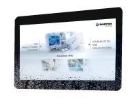 Kontron Panel-PC FlatClient HYG mit IP69K bei Aaronn Electronic