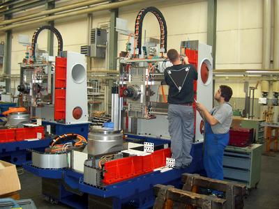 Production at Ulmer Maschinenteile GmbH