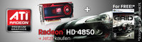 AMD/ATI-Bundleaktion: Radeon HD 4850 inklusive Race Driver: GRID