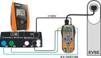 Sybolbild Ladung EV Test100