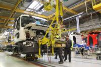 Im Werk in Blainville-sur-Orne wird ein vollelektrischer Renault Truck gefertigt