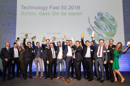 Instillo Achieves Top Position in Technology Fast 50 - Germany's fastest growing technology companies
