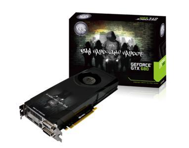 kfa2 GTX680 BOX+card