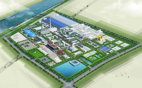 The whole chemical industrial park