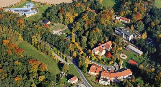 """Das Sächsische Epilepsiezentrum Radeberg ist eine überregionale """"Komplexeinrichtung"""" zur Betreuung von Menschen mit Behinderungen."""