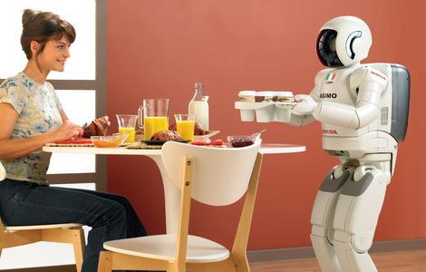 Der Roboter ASIMO (Foto: Honda News/Flickr.com)