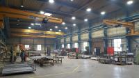 LED Hallenstrahler sorgen für gutes Licht während Schweißarbeiten