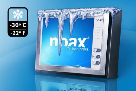 noax-Industrie-PCs zuverlässig bei frostigen Temperaturen bis minus 30°C