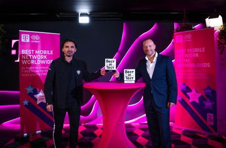 """T-Mobile bekroond door umlaut met """"Best in Test"""" wereldwijd"""