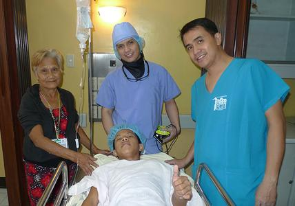 Leopoldo, The Philippines is One of the Patients saved in 2015