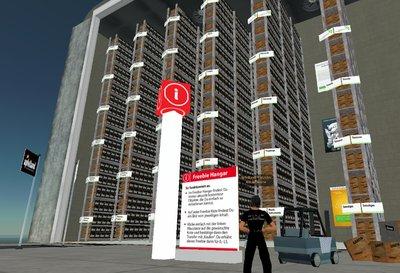 Viele kostenlose Objekte für Second Life Einsteiger im Freebie Hangar