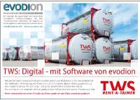 TWS Tankcontainer Leasing arbeitet mit Software der evodion IT GmbH