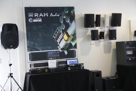 RAM Audio Adam Hall Open Day 2013 1