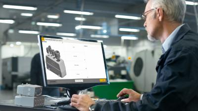 """The Han® Configurator for industrial interfaces is now featuring a """"customizing"""" function that enables users to produce customised solutions for cable entries and to affix markings"""