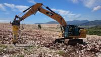 Epiroc HB 2500 in eco farming project