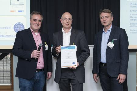 TeamDrive Gütesiegel Verleihung Trust in Cloud.jpg