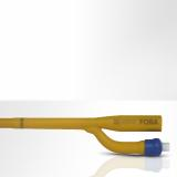 Laser marking on plastic balloon catheter (picture rights: FOBA)