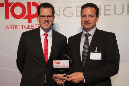 David Plink (CEO CRF Institute) links und Dipl.-Ing. Kai F. Wißler (Vorstand invenio AG) rechts