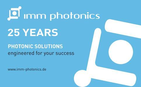IMM Photonics - 25-jähriges Firmenjubiläum