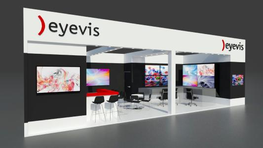eyevis at Security on stand B22, hall 1