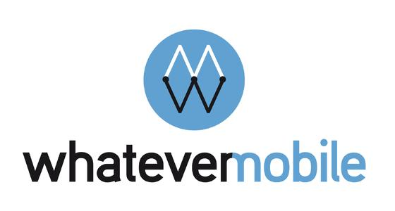 whatever mobile  Logo