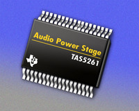TI Introduces First Digital Audio Amplifier Power Stage that Drive more than 300 Watts on a Single Channel
