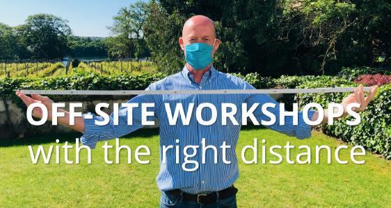Gerade in der Sommerzeit können Workshops unter Hygienevorkehrungen auch gut draußen stattfinden