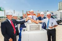 trans-o-flex lays foundation stone for logistics location with own electricity production