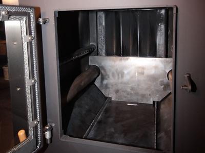Detailansicht Brennraum