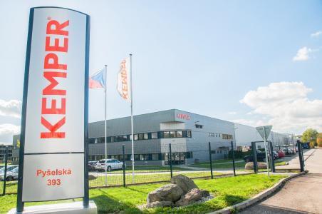 The production plant in Czech Republic today: KEMPER expands its international manufacturing