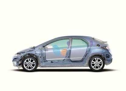Honda Civic erhält 5 Sterne beim Euro NCAP-Crashtest