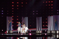 Riedel scores at the Eurovision Song Contest