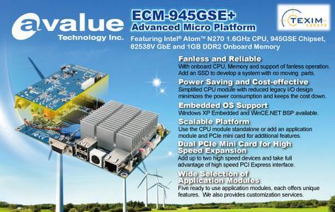 ECM-945GSE Plus from Avalue