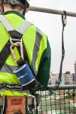 Das Verbindungsmittel SP140 ist speziell für kurze Fallstrecken und hohes Körpergewicht konzipiert.