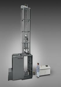 Zwick's DWT large-drop impact tester (20 to 100 kJ)