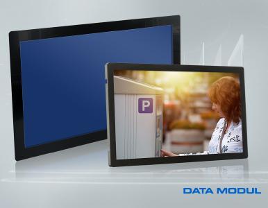 Großformatige Open Frame Monitore
