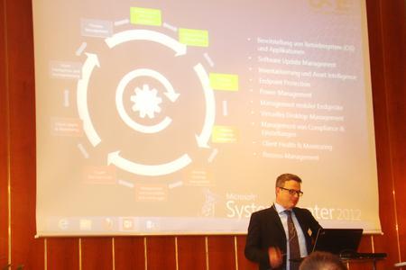 Markus Weiler von der USE Projektmanagement GmbH