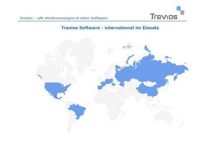 Trevios Software - Weltkarte