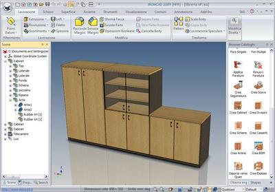 Design Collaboration Suite für den Innenausbau