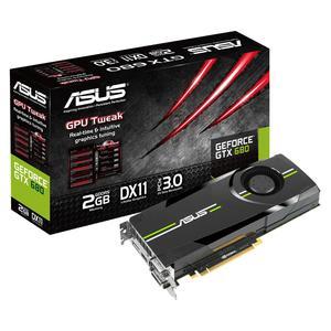 ASUS GeForce GTX 680, 2048 MB DDR5, PCIe 3.0, DP, HDMI, DVI