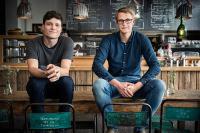 Gründer Jakob Breuninger und Valentin Belser von Delicious Data