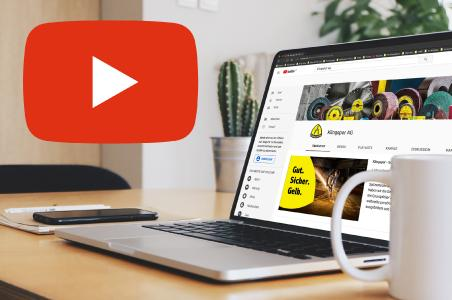 Klingspor auf YouTube