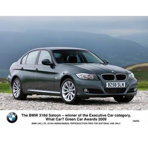 BMW 318d Saloon