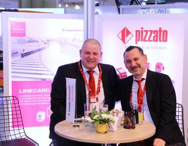 Vice President Matthias Höhl mit Geschäftsführer der Tochtergesellschaft Türkei