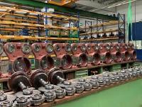 Fertigteile zur Produktion von Getrieben für Straßenfräsen