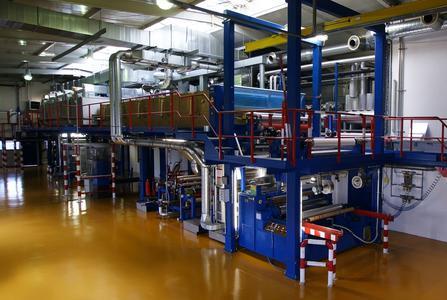 Beschichtungsanlage für folienartige Materialien