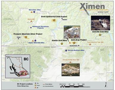Ximen Mining Corp berichtet über aktuelle Bohrergebnisse aus dem Konzessionsgebiet Gold Drop in Greenwood (BC)