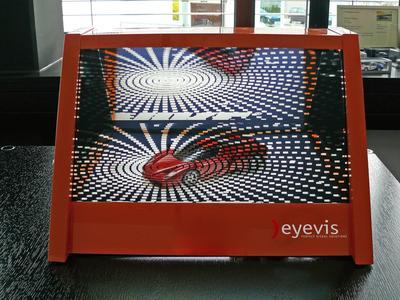 eyevis transparent LCD