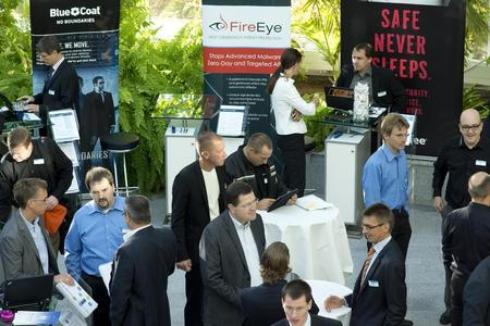 Im Rahmen der Partnerausstellung präsentierten über 20 renommierte Security-Hersteller bei Controlware ihre neuesten Lösungen