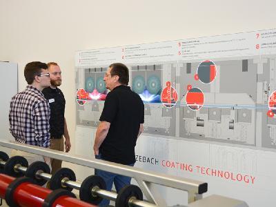 Die Teilnehmer diskutierten Mitte Oktober neue Anforderungen an die Coating-Technologie